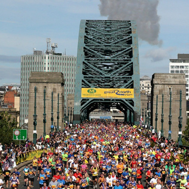 Principle CEO Victoria Woodings completes Great North Run