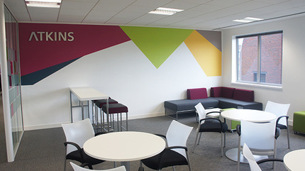Principle delivered a inspiring workplace for Atkins.