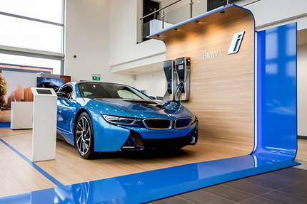Principle implemented the BMWi at 750 retailers around the world.