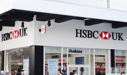 Principle is the sole signage contractor responsible for re-branding the entire HSBC UK network of over 700 branches.