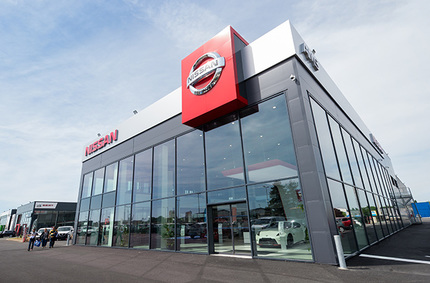 Principle were handpicked to assist with a facelift on all bespoke furniture items at Nissan.