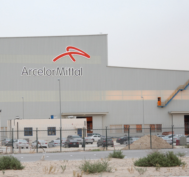 Global Brand Implementation for ArcelorMittal by Principle