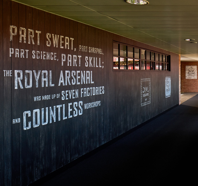 Principle help create new social courtyard for fans at Arsenal FC