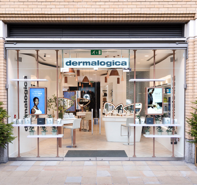 Principle create largest flagship store in UK for Dermalogica