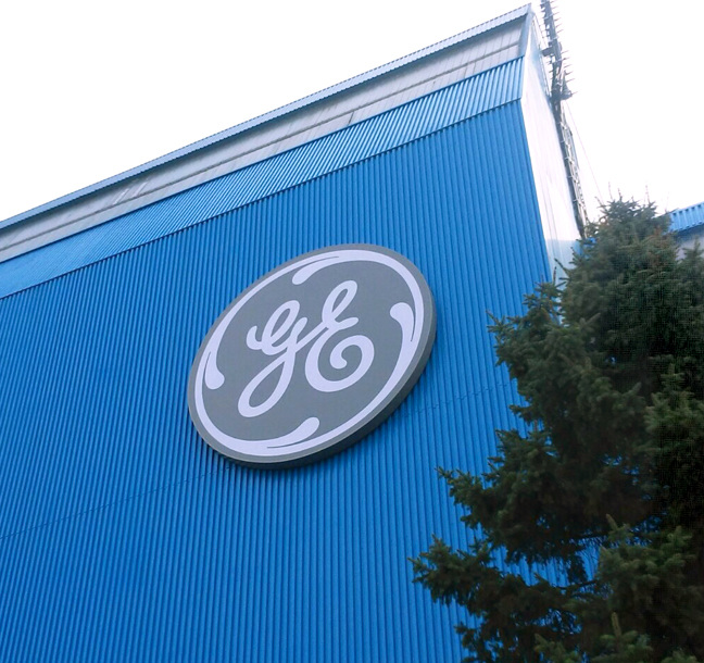 GE rebranding programme delivered by Principle.