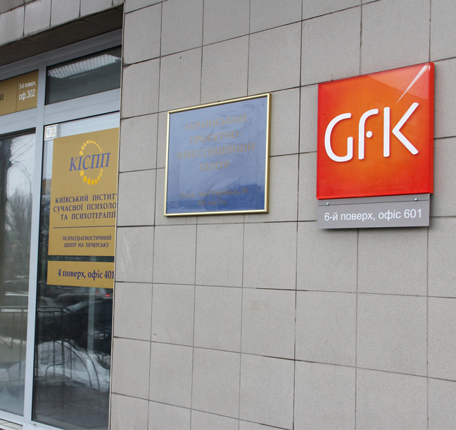 Global Brand Implementation for GfK by Principle