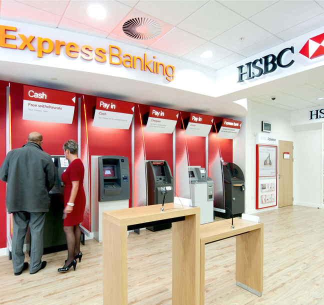 Global Brand Implementation for HSBC delivered by Principle