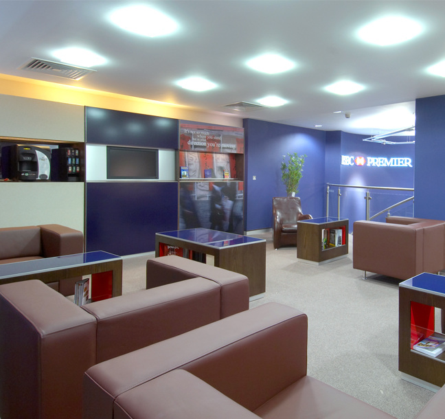 Development of Interior Concepts for HSBC by Principle