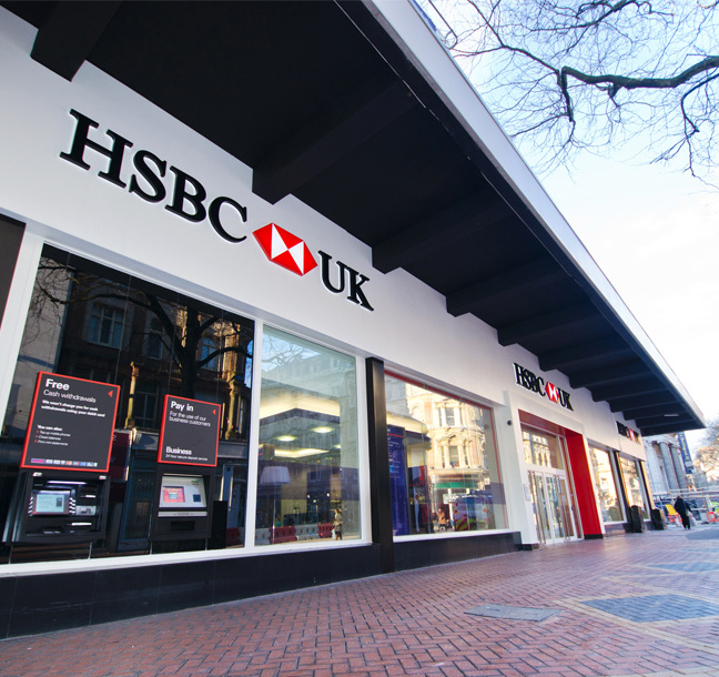 Principle Rebrand HSBC UK Branch Network