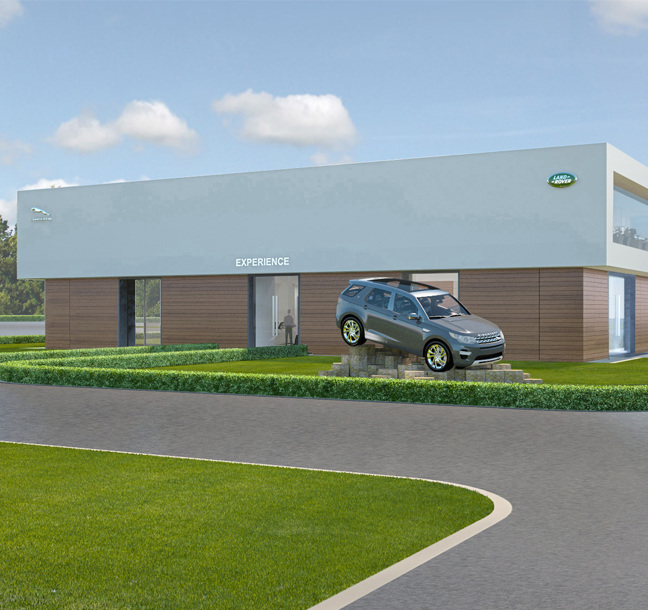 Principle deliver transformational site refurbishments for Jaguar Land Rover