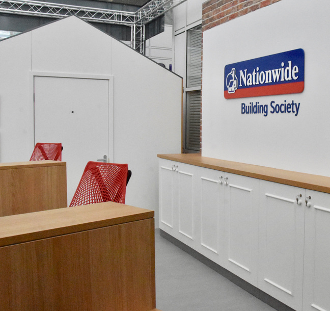 Principle develop new interior concepts for the largest building society in the world