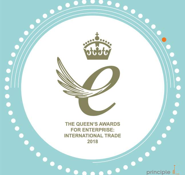 Principle receive Queen's Award for outstanding achievement in international trade