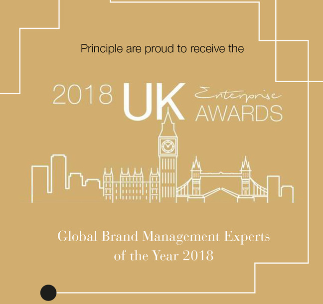Success for Principle at 2018 UK Enterprise Awards