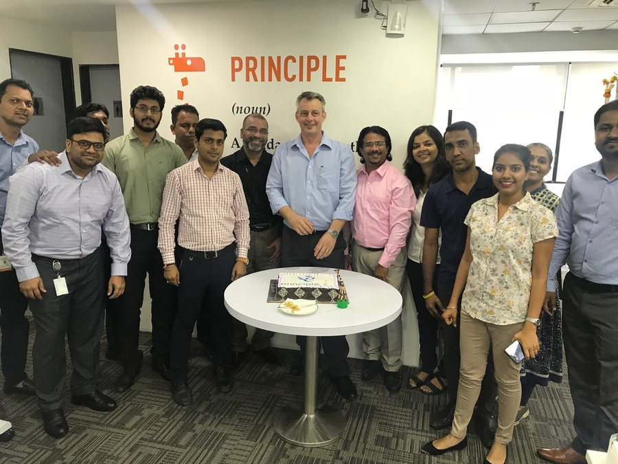 Principle teams around the world celebrate the Queen